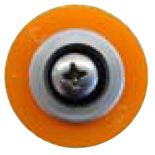 Gemini Revolution XT Orange Groove Grommet