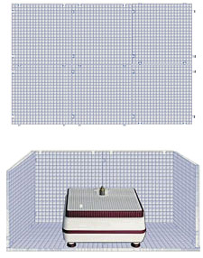 Waffle Grid Surface - 6 Pack