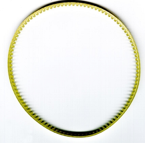 DTI Replacement Drive Belt for Diamond Laser 1000 and 3000 Wet Band Saws
