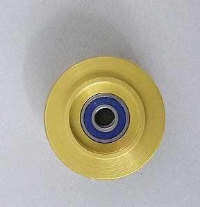 Gryphon Zephyr Aluminum Gold Guide Wheel