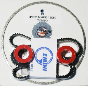 Gemini Taurus 3 Speed Blade & Belt Kit