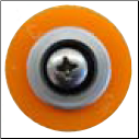 Gemini Apollo Orange Groove Grommet