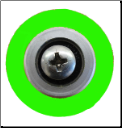 Gemini Apollo Green Groove Grommet Assembly