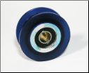 Gemini Apollo Double Blue Pulley