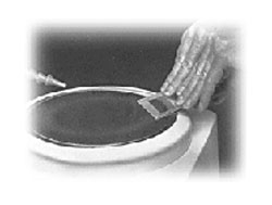 Glastar B4 8 Quot Diamond Disc Grinder With Magnetic Holder
